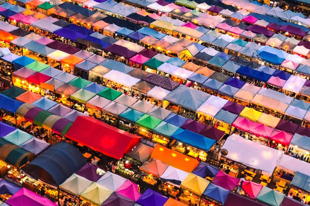 マレーシアのナイトマーケット